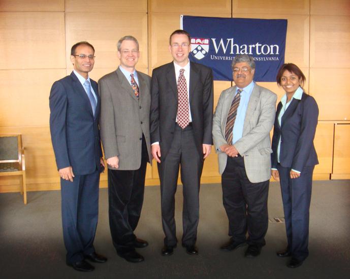 Runner up Wharton Innovation tournament - Mar 2010